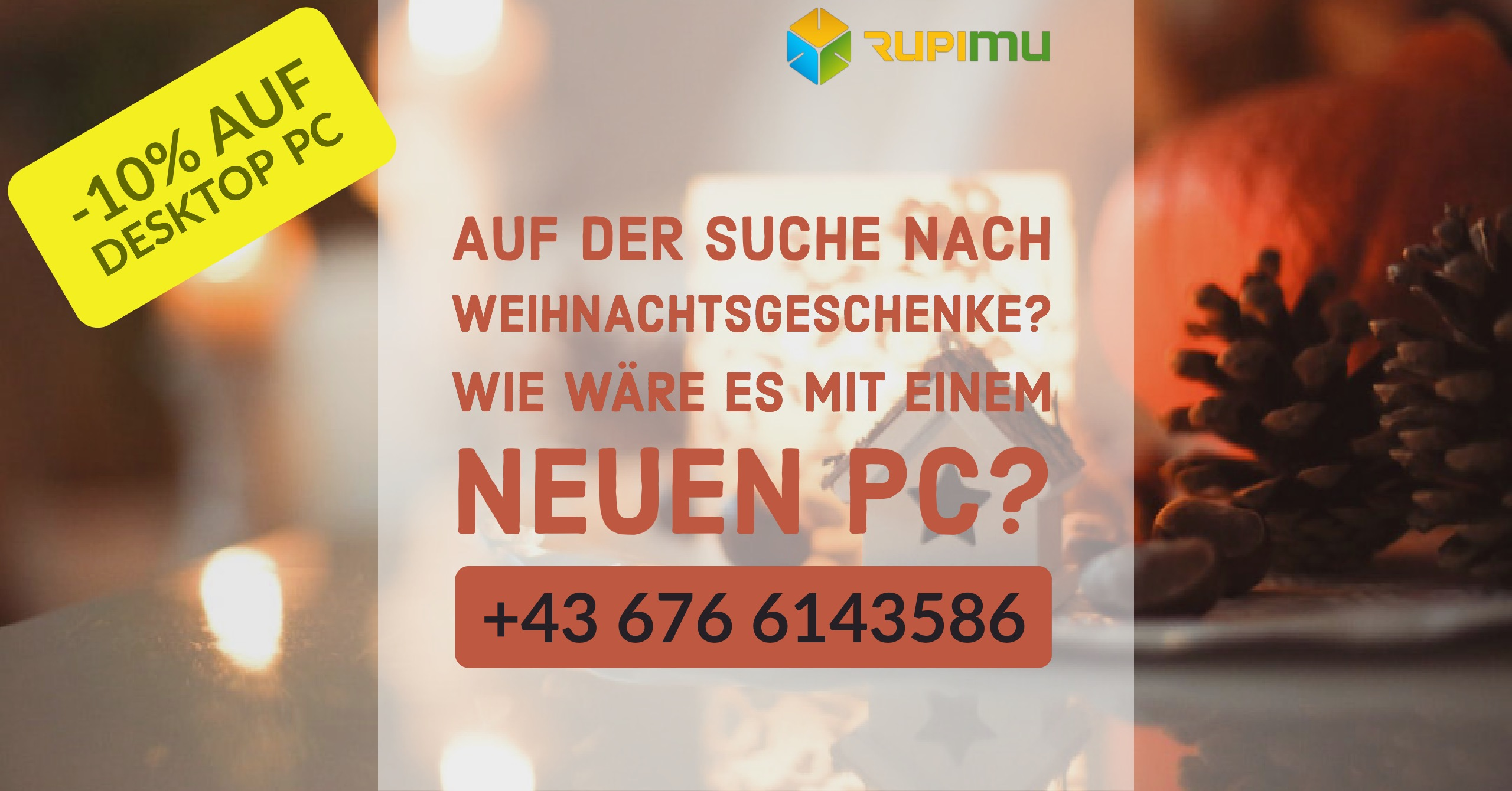 Weihnachtsaktion RupiMu Computerservice